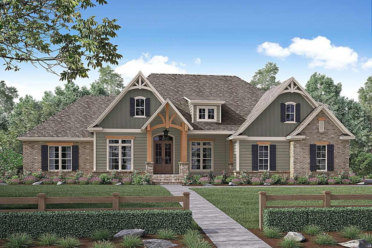 Craftsman Style House Plans Plan: 50-160