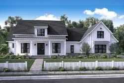 Modern-Farmhouse Style Floor Plans Plan: 50-161