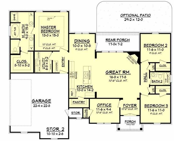 Main Floor Plan: 50-171