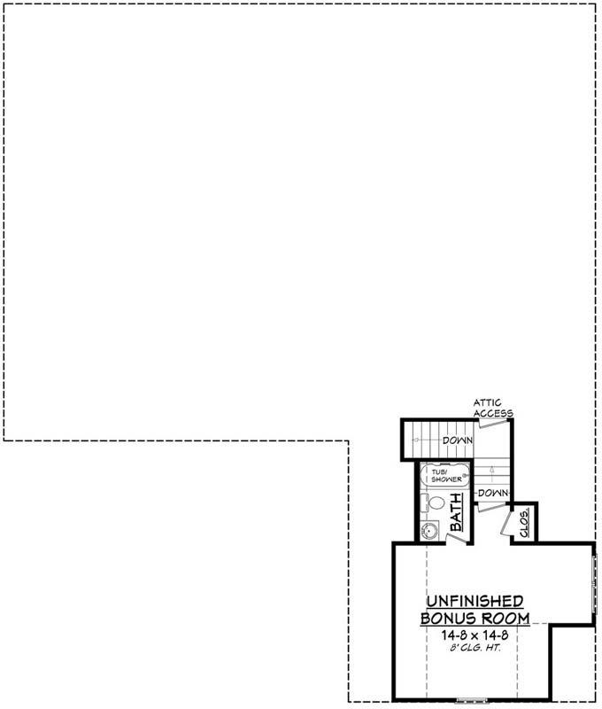 Bonus Floor Plan: 50-187