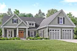 Craftsman Style House Plans Plan: 50-187