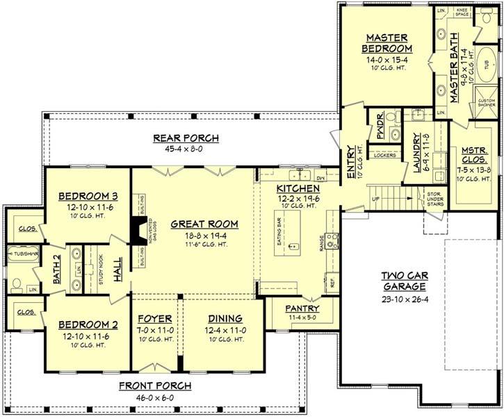 Main Floor Plan: 50-202