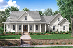 Modern-Farmhouse Style House Plans Plan: 50-202