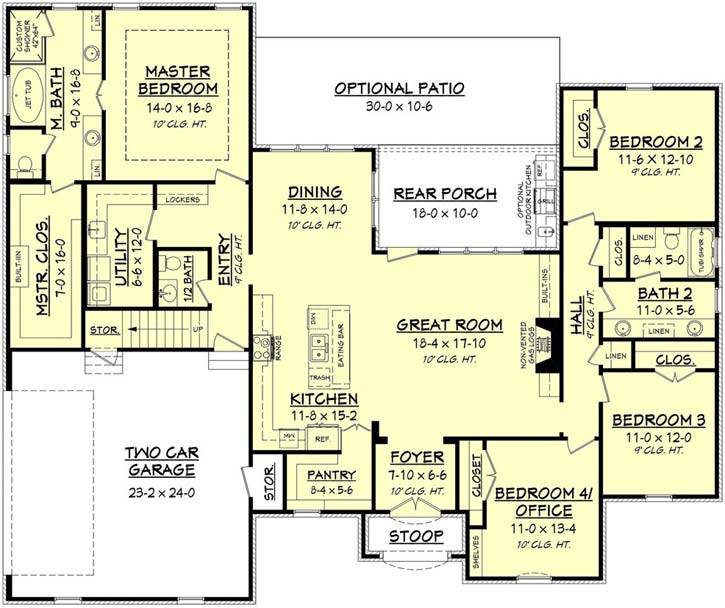 Main Floor Plan: 50-205
