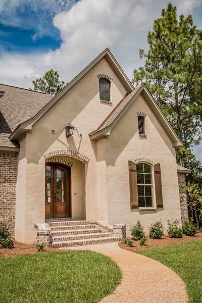 French-country Style Floor Plans