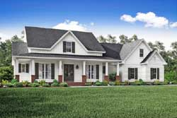 Modern-Farmhouse Style Floor Plans Plan: 50-207