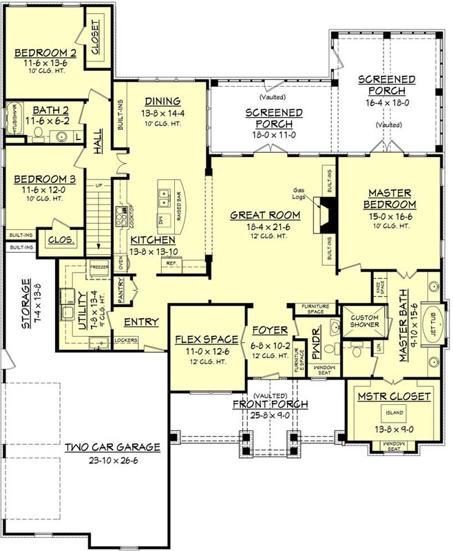 Main Floor Plan: 50-212