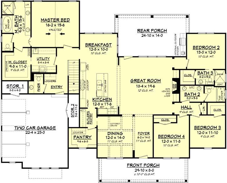 Main Floor Plan: 50-277