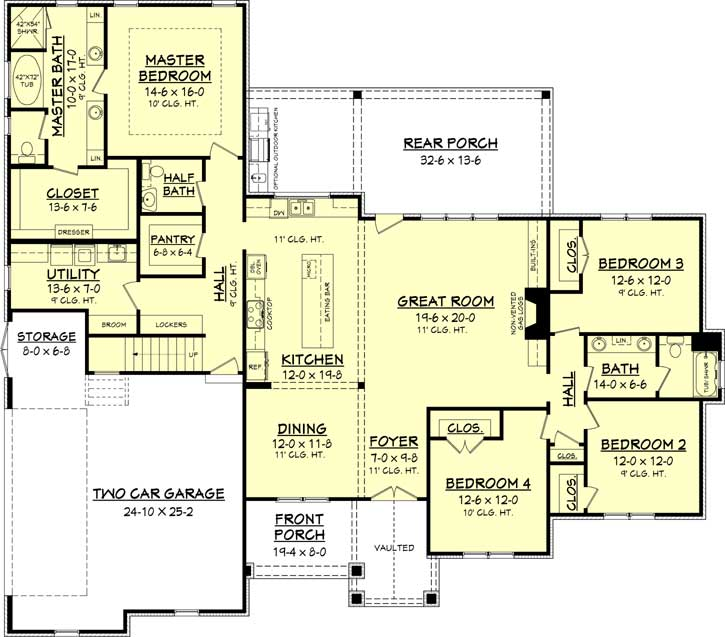 Main Floor Plan: 50-281