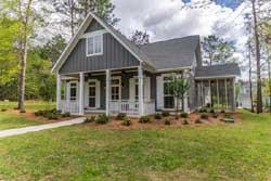 Farm Style Home Design Plan: 50-282