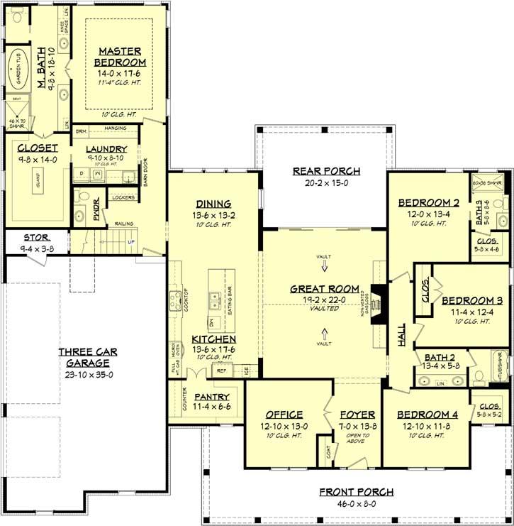 Main Floor Plan: 50-283