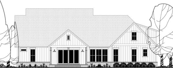 Rear Elevation Plan: 50-283