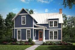 Modern-Farmhouse Style Floor Plans Plan: 50-284