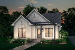 Traditional Style House Plans Plan: 50-287