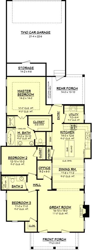 Main Floor Plan: 50-297