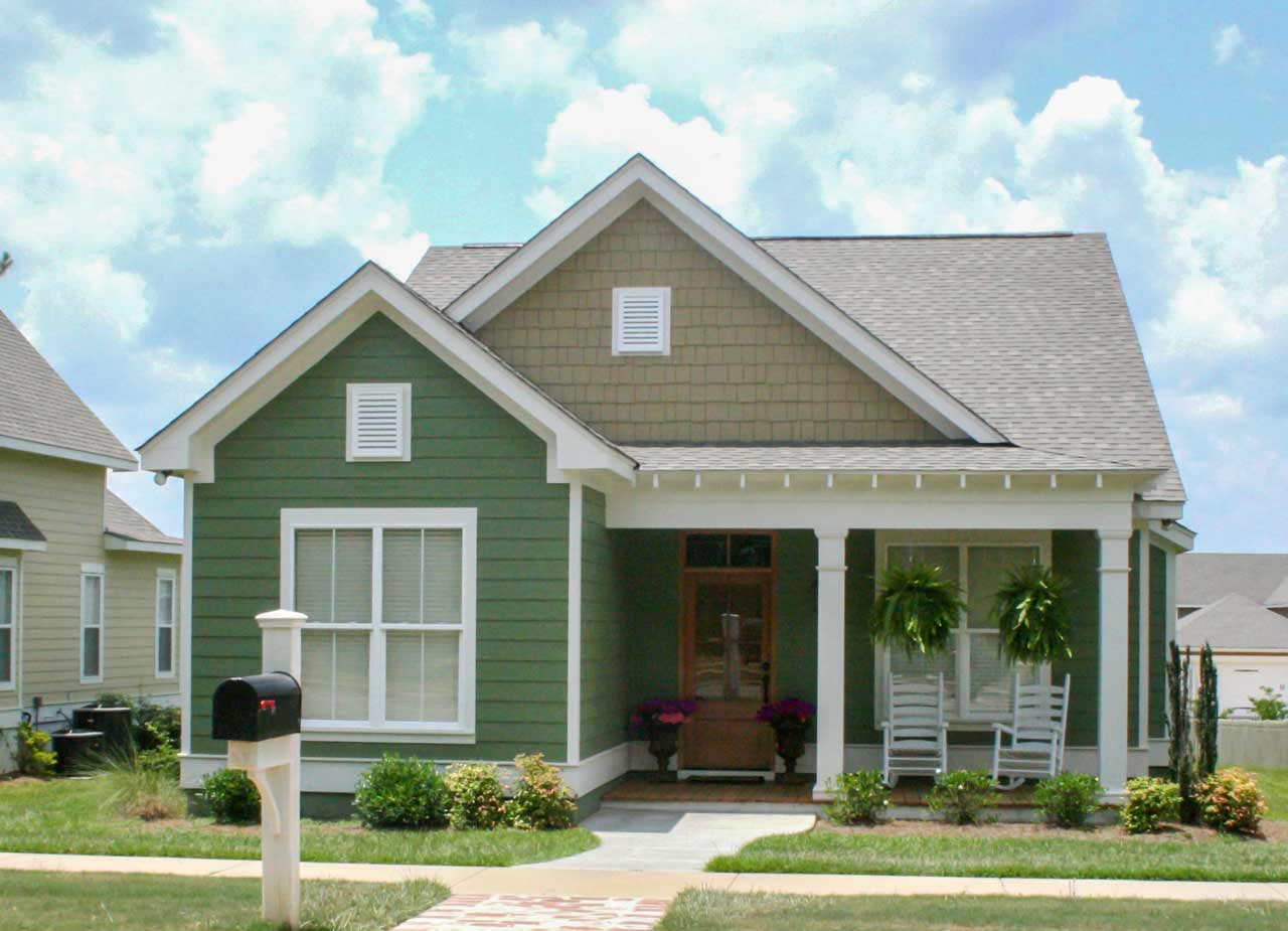 Cottage Style Home Design Plan: 50-298