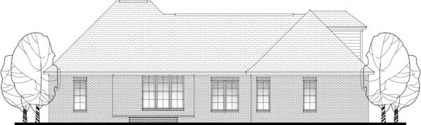 Rear Elevation Plan: 50-322