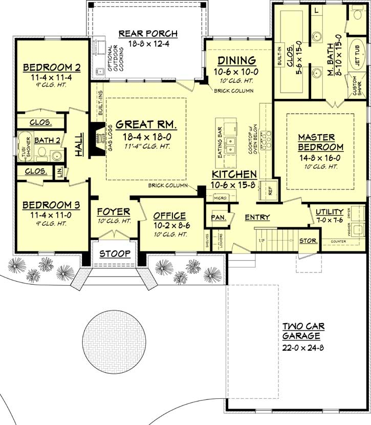 House plans with rear center courtyard. on narrow lot duplex plans, zero lot landscaping, small lot house plans, zero house plans new england, narrow lot house plans, zero entry house plans, zero lot line duplex plans, louisiana acadian style floor plans, corner lot house plans, sloping lot house plans, view lot house plans, zero energy homes, louisiana french home design plans,