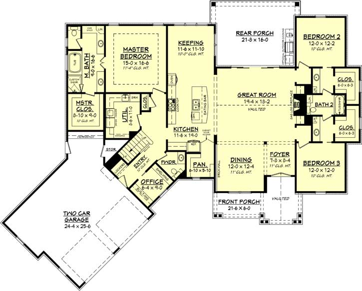 Main Floor Plan: 50-365