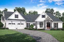 Modern-Farmhouse Style Floor Plans Plan: 50-365
