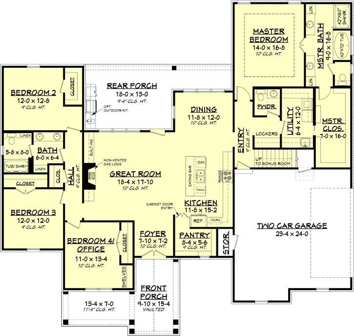 Main Floor Plan: 50-381