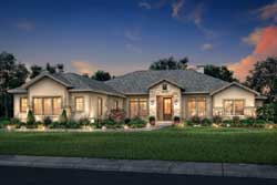 Ranch Style Home Design Plan: 50-382