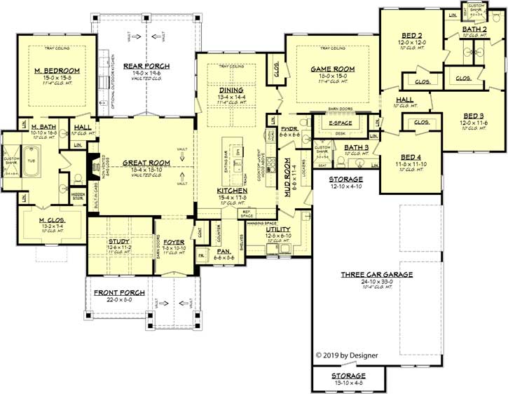Main Floor Plan: 50-384