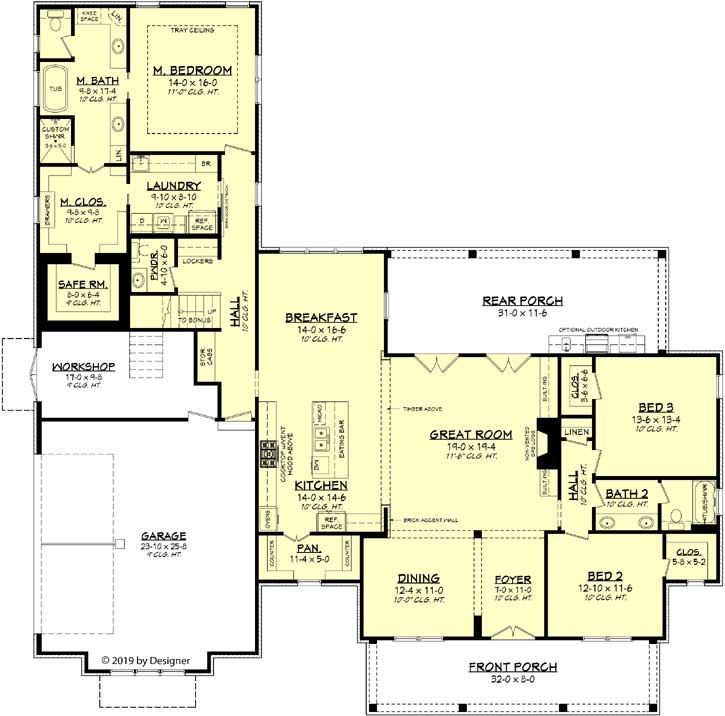 Main Floor Plan: 50-385