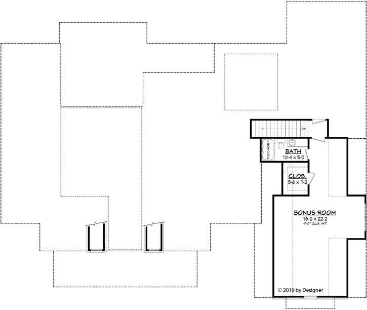 Bonus Floor Plan: 50-386