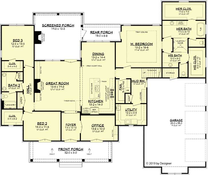 Main Floor Plan: 50-386