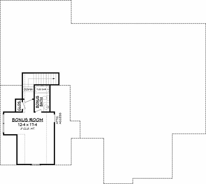 Bonus Floor Plan: 50-388