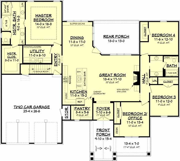 Main Floor Plan: 50-388