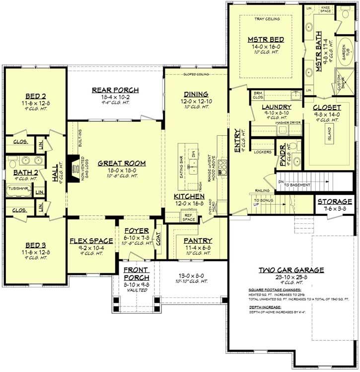 Modern-farmhouse Style Home Design 50-389