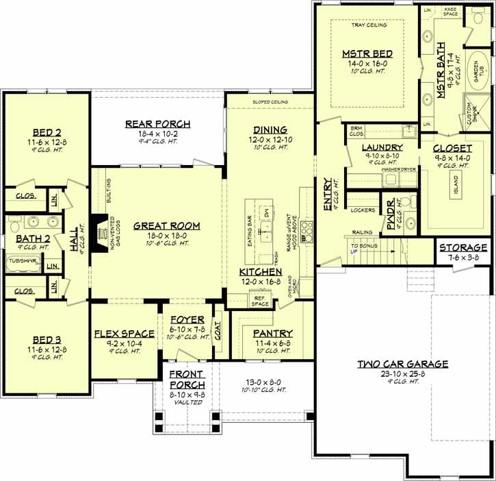 Main Floor Plan: 50-389