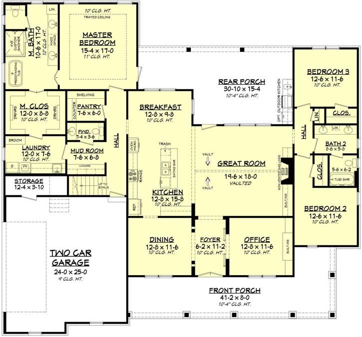 Main Floor Plan: 50-390