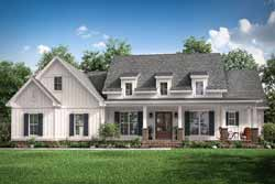 Modern-Farmhouse Style House Plans Plan: 50-390