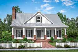 Farm Style Floor Plans Plan: 50-391