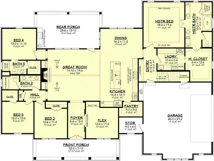 Main Floor Plan: 50-395