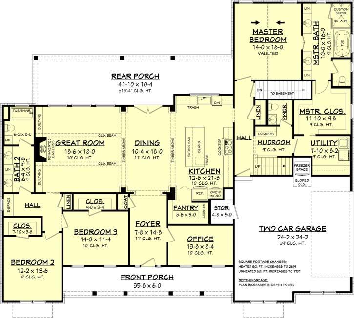 Modern-farmhouse Style House Plans 50-397
