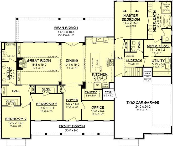Main Floor Plan: 50-397