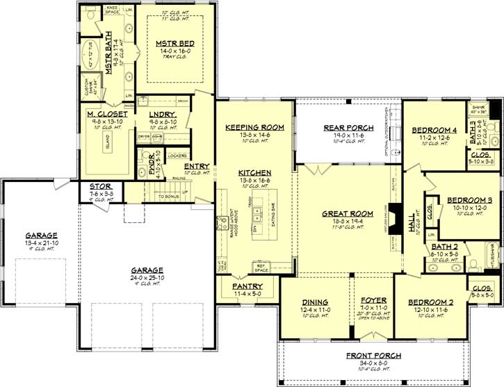 Main Floor Plan: 50-398