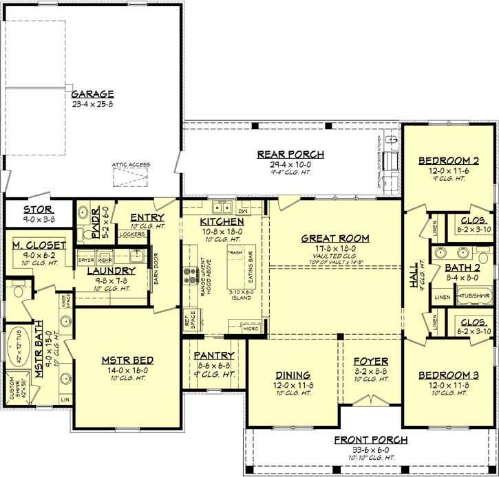 Main Floor Plan: 50-400
