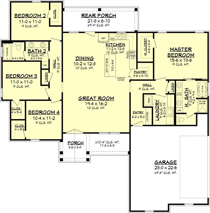 Main Floor Plan: 50-402