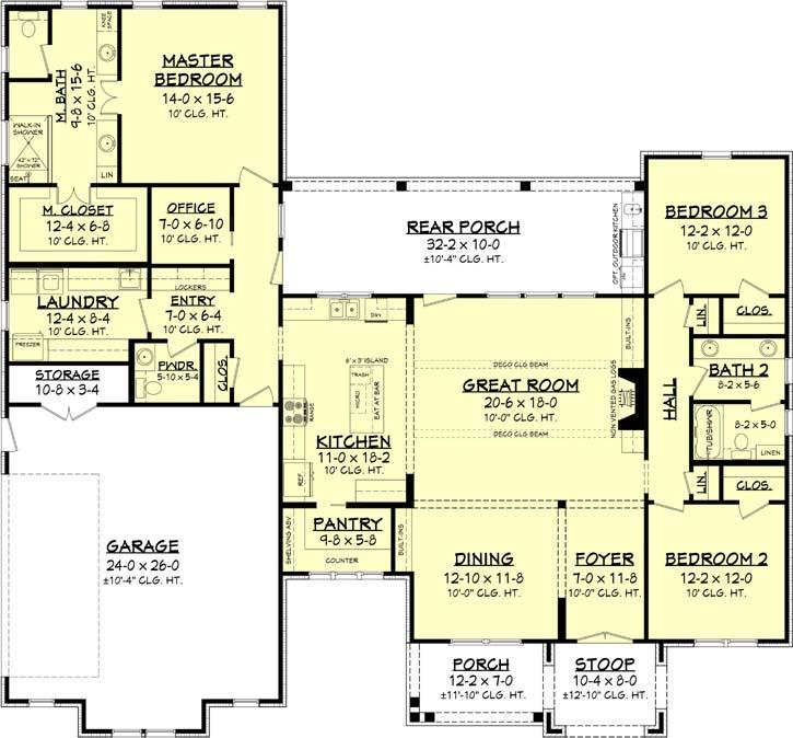 Main Floor Plan: 50-403