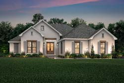 French-Country Style House Plans Plan: 50-405