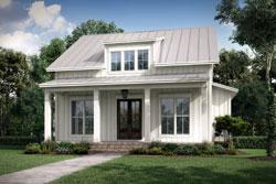 Modern-Farmhouse Style House Plans Plan: 50-414
