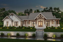 Modern-Farmhouse Style Floor Plans Plan: 50-416