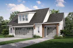 Modern-Farmhouse Style Floor Plans Plan: 50-423
