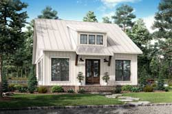 Country Style Floor Plans Plan: 50-426