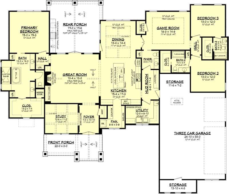 Main Floor Plan: 50-427